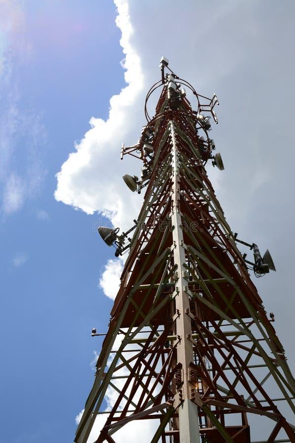 Башня сигнала стоковые изображения