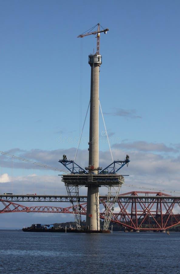 Башня скрещивания Queensferry стоковые изображения