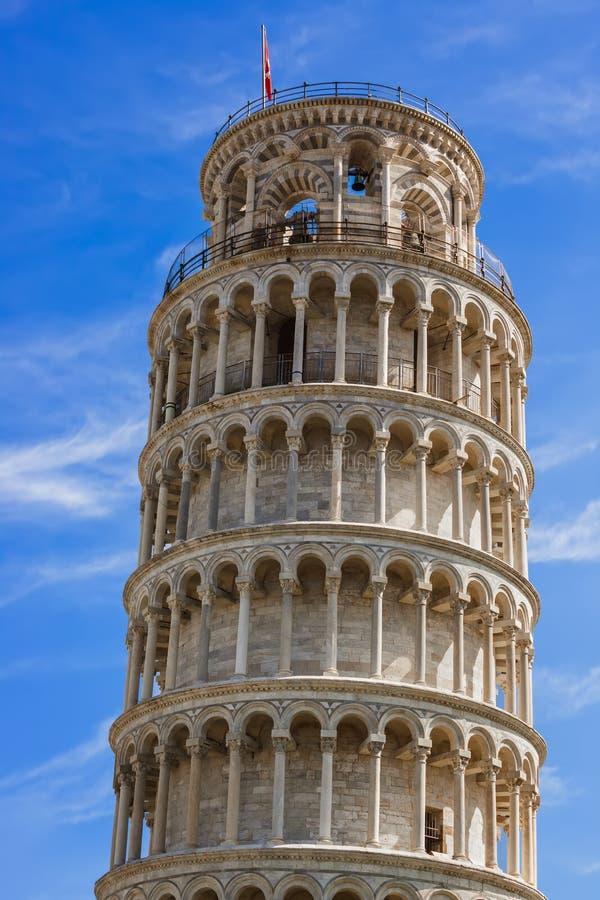 Башня склонности в Пизе Италии стоковая фотография