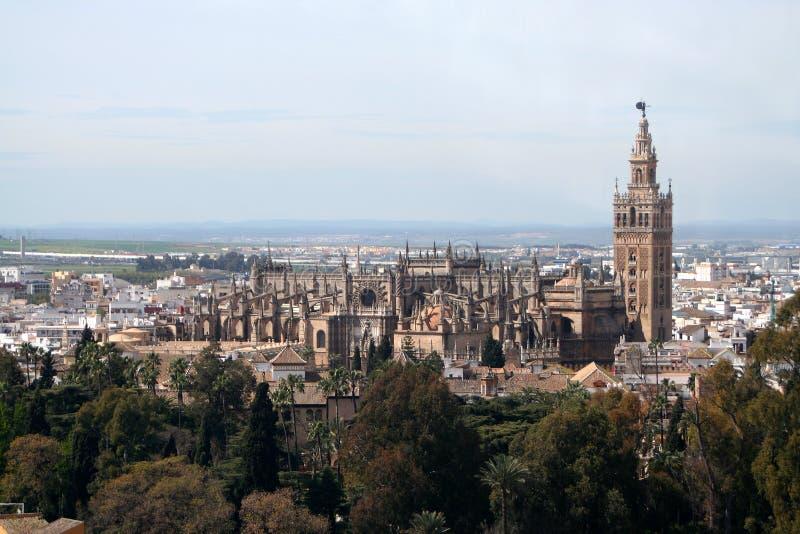 башня собора стоковое изображение