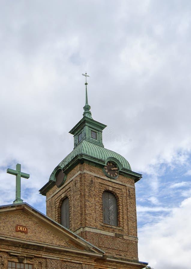 Башня София Albertina Kyrka стоковые изображения