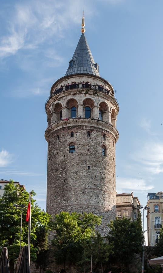 Башня Стамбул Galata стоковые изображения