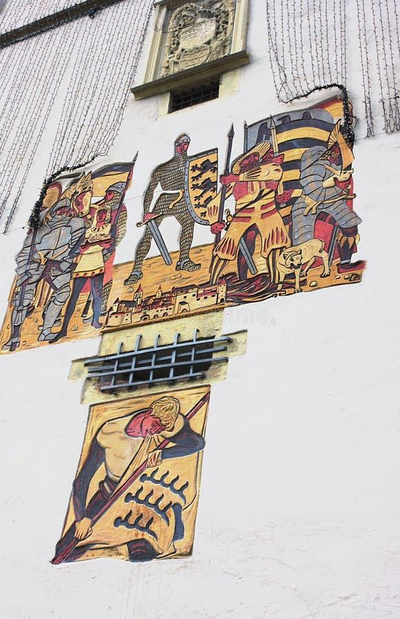 Башня строба Beinstein-II-Waiblingen стоковые фотографии rf
