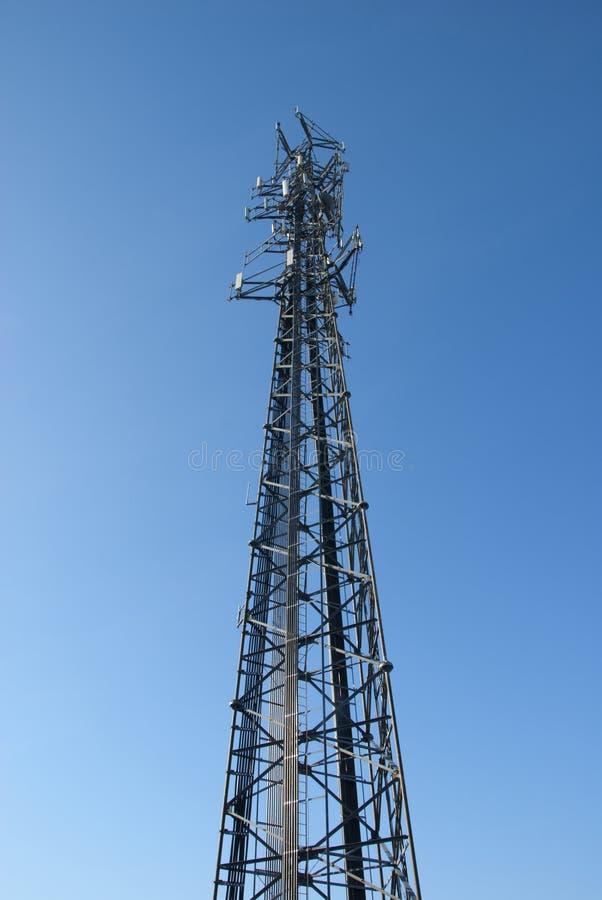 башня съемки клетки широко стоковые изображения
