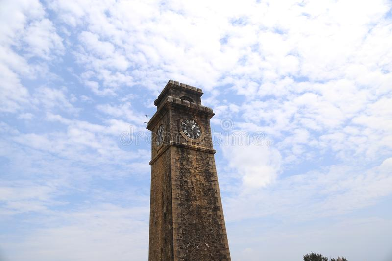 Башня с часами Галле стоковые изображения rf