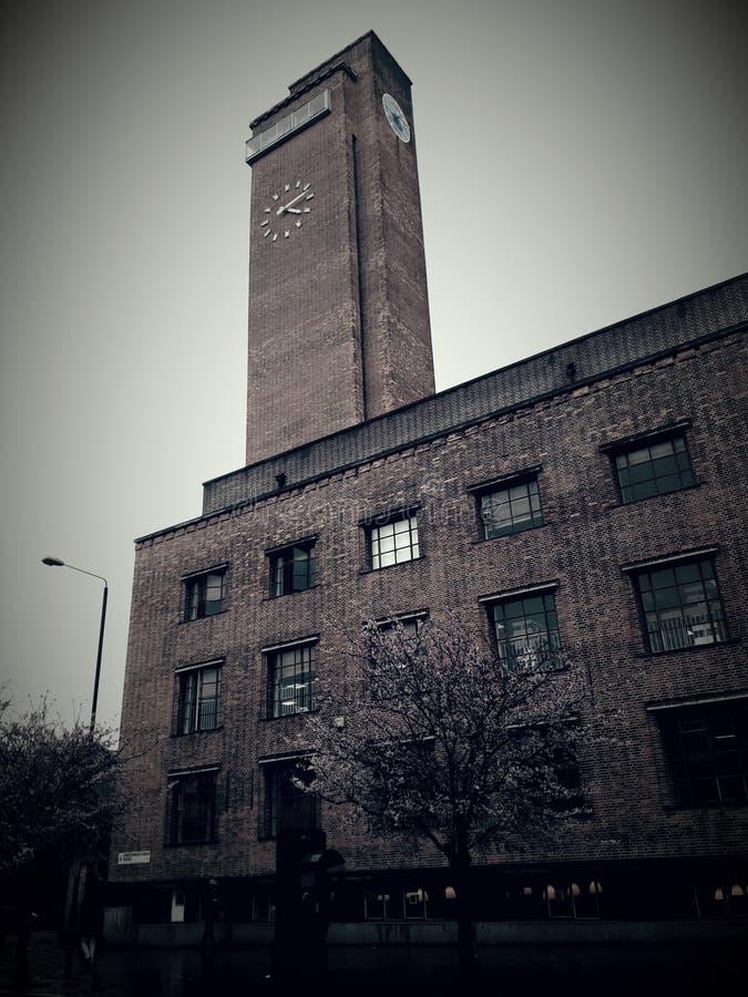 Башня с часами Лондона стоковые фотографии rf