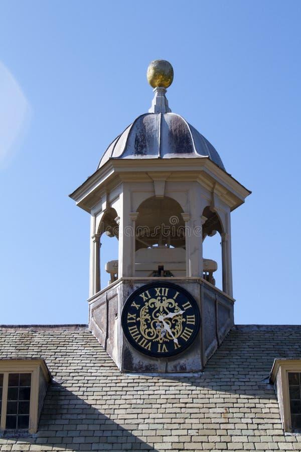 Башня с часами дома Belton стоковые фотографии rf