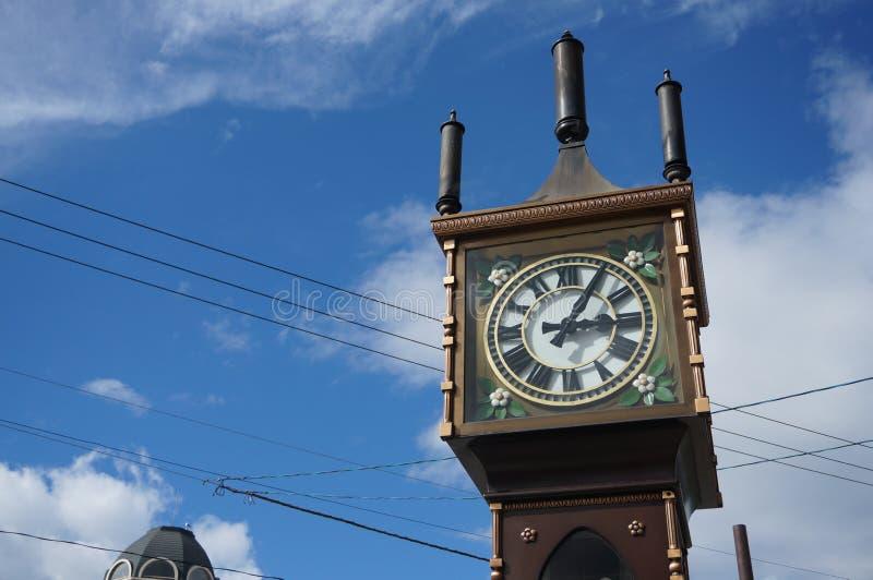 Башня с часами пара Otaru стоковые изображения