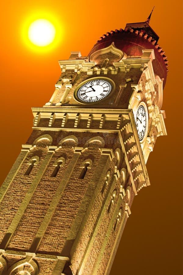 Башня с часами стоковые фото