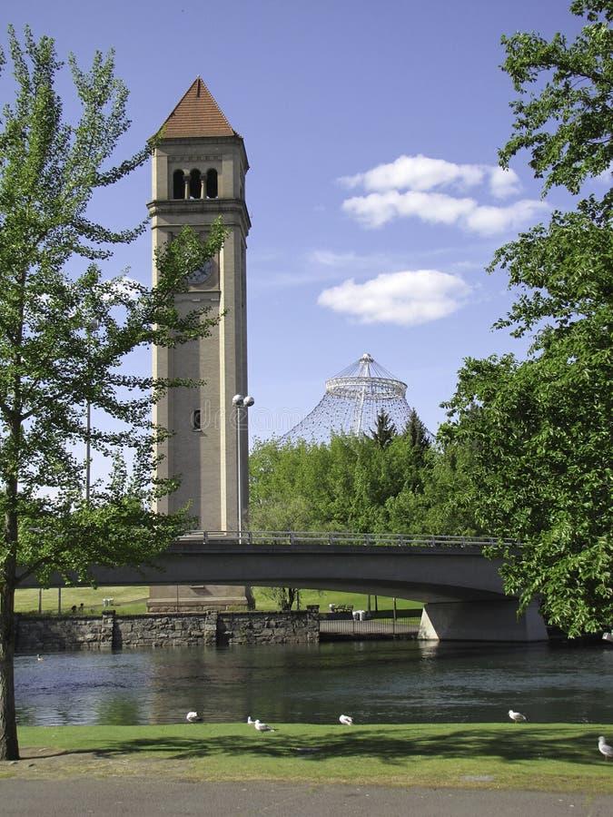 Башня с часами стоковая фотография rf