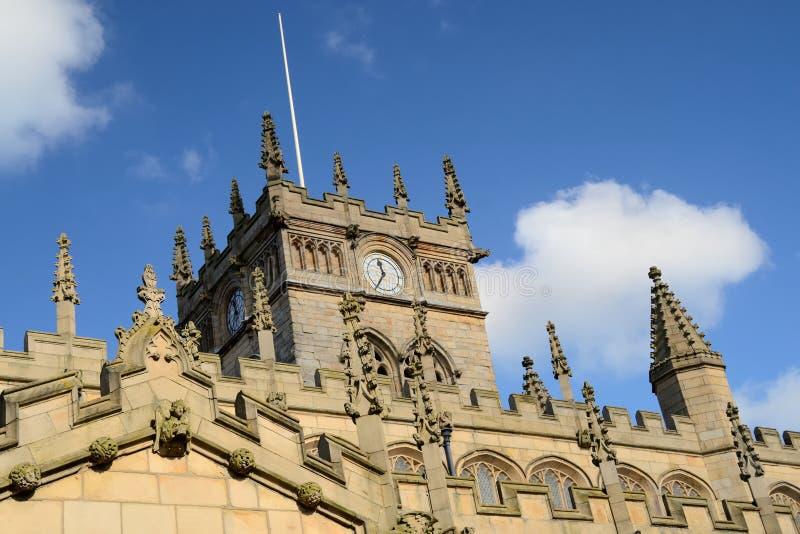 Башня с часами. стоковое изображение