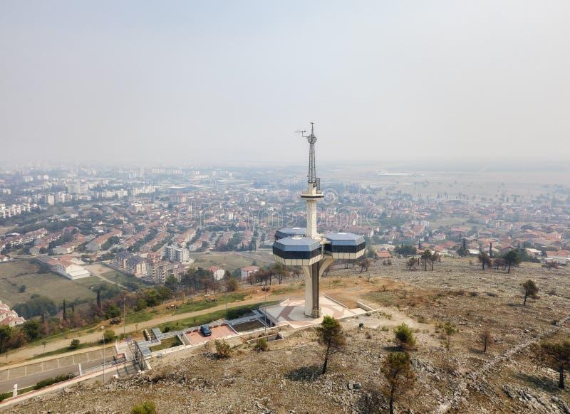 Башня ТВ Советского Союза стоковая фотография rf