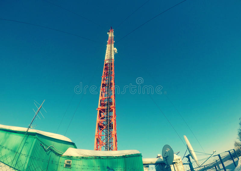 Башня ТВ стоковые фото