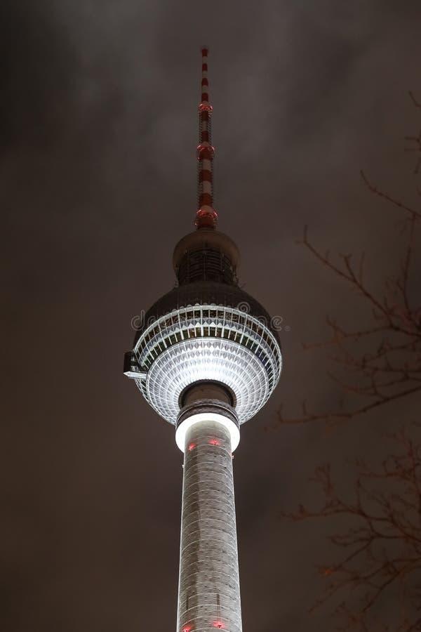 башня телевидения berlin Германии стоковое изображение