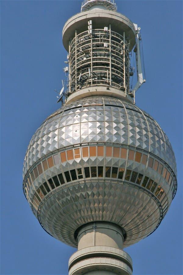 башня телевидения berlin стоковое изображение