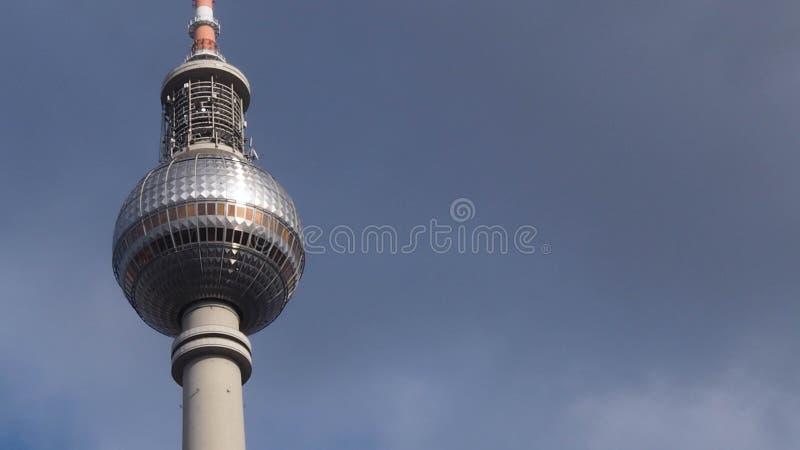 башня телевидения berlin стоковые фото