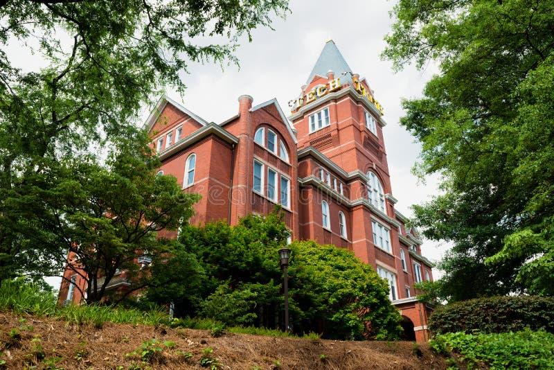 «Башня техника» на институте технологии Georgia стоковое изображение