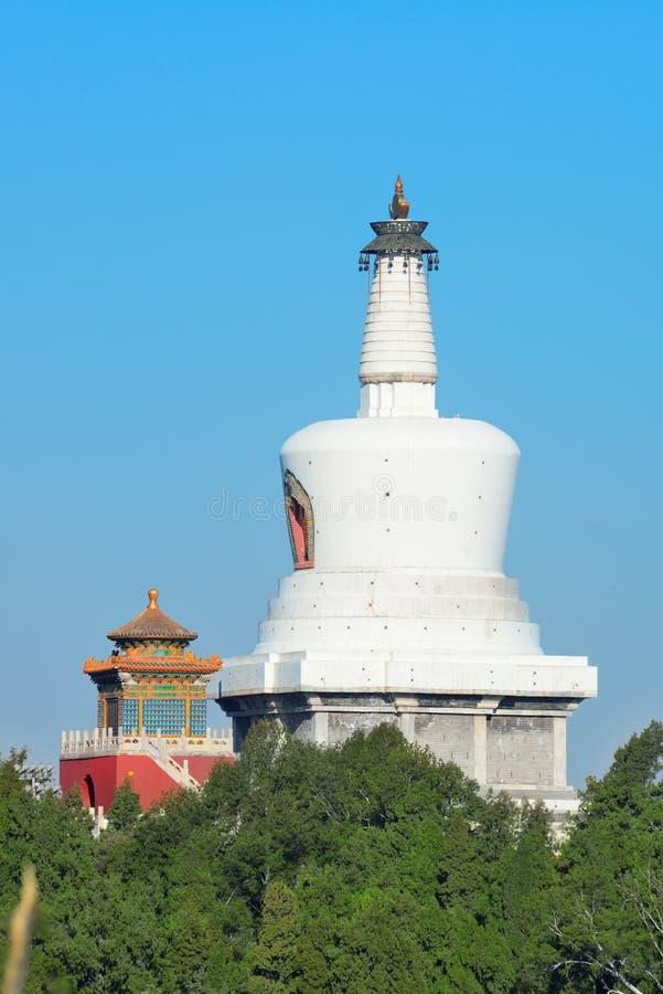Башня тибетского буддизма стоковое фото rf