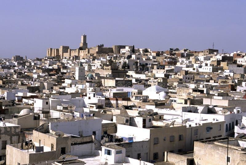 башня Тунис kasbah стоковые изображения rf