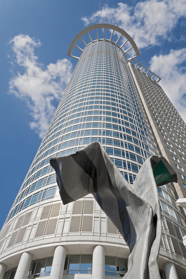 Башня Франкфурт Westend стоковое изображение rf