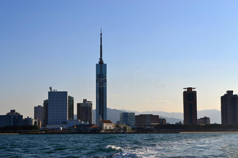Башня Фукуоки стоковые изображения rf