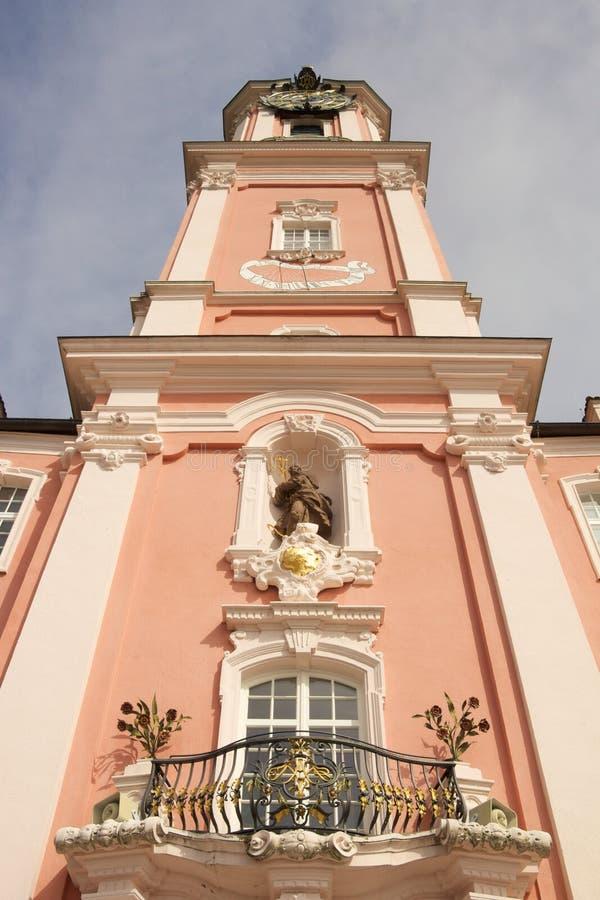 Башня церков Birnau стоковое фото