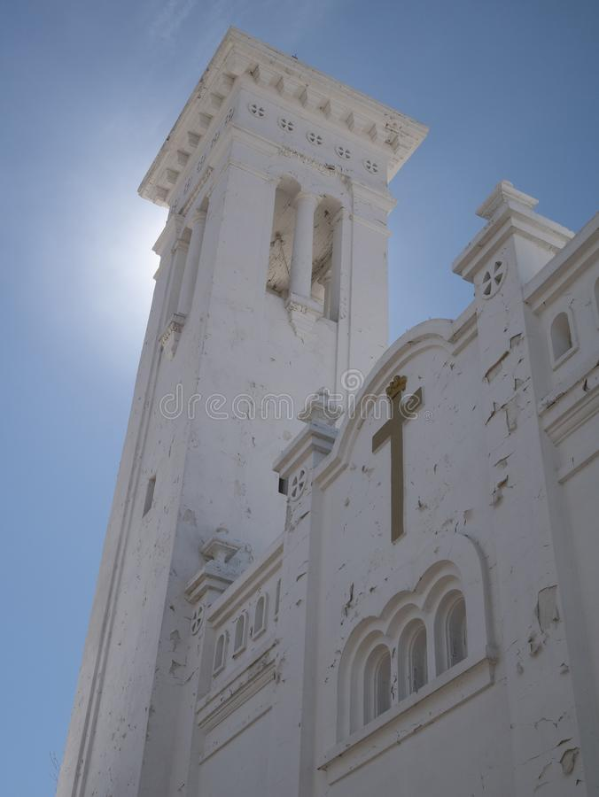 Башня церков Santa Cruz стоковая фотография