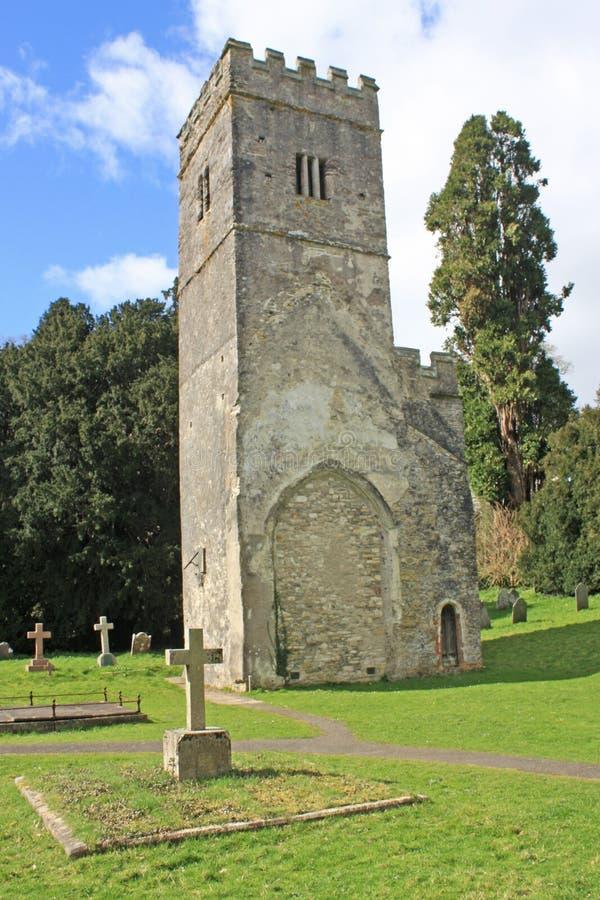 Башня церков St Marys стоковые фото