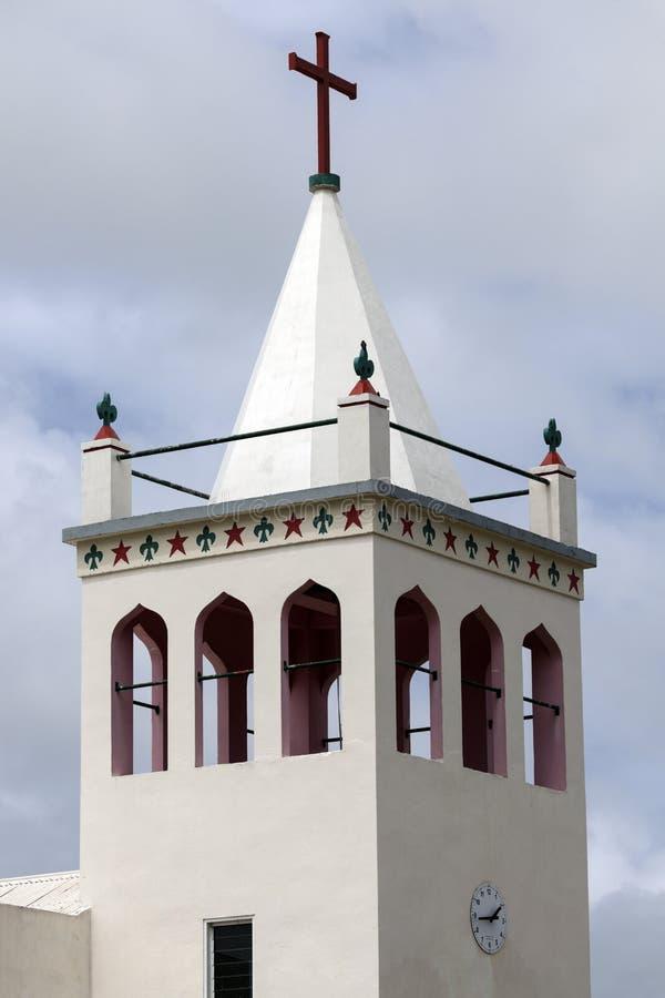Башня церков - Tongatapu, Тонга стоковые изображения rf