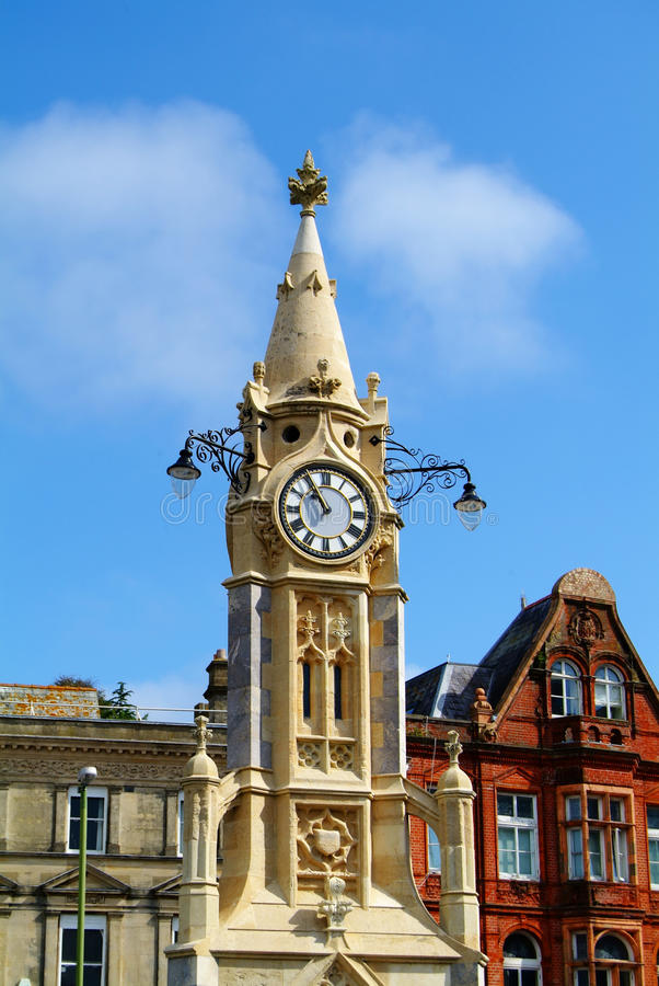 Башня часов Стоковые Изображения RF