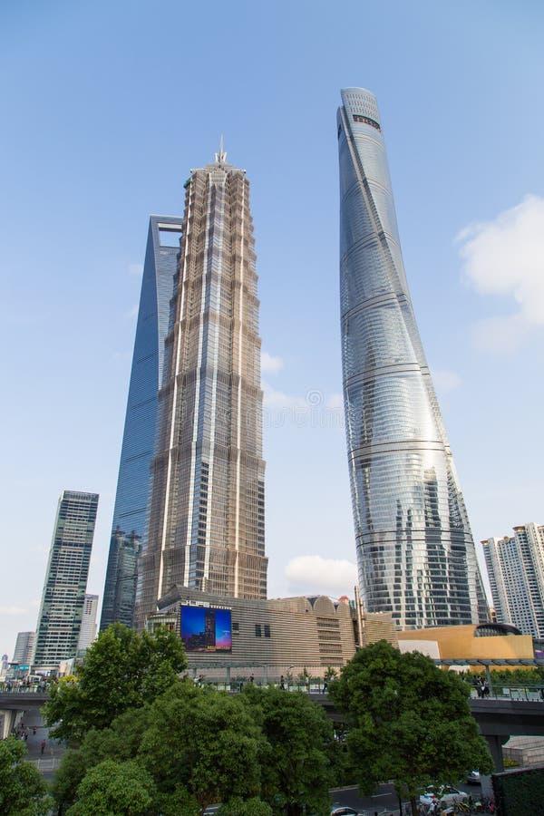 Башня Шанхая стоковая фотография rf