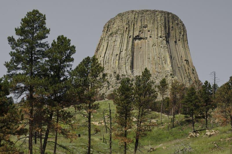 Башня дьявола стоковая фотография