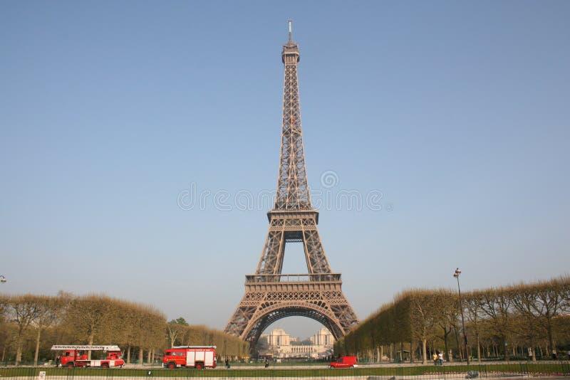 башня 2 eiffel paris стоковая фотография