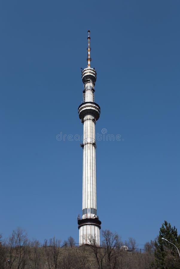 башня almaty стоковое изображение