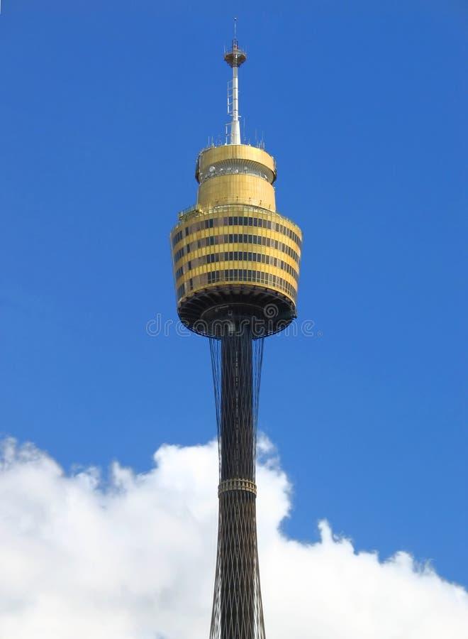 башня amp Сиднея стоковое изображение rf