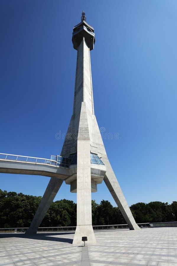 Башня Avala стоковые изображения rf
