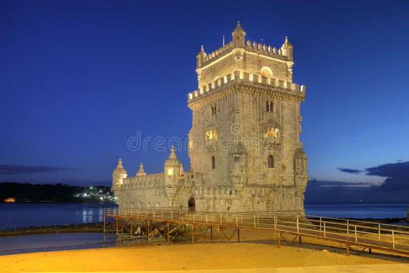 башня belem lisbon Португалии стоковая фотография