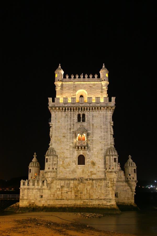 башня belem lisbon стоковые фото