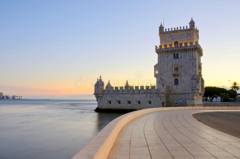 Башня Belem (Torre de Belem), Лиссабон стоковое изображение