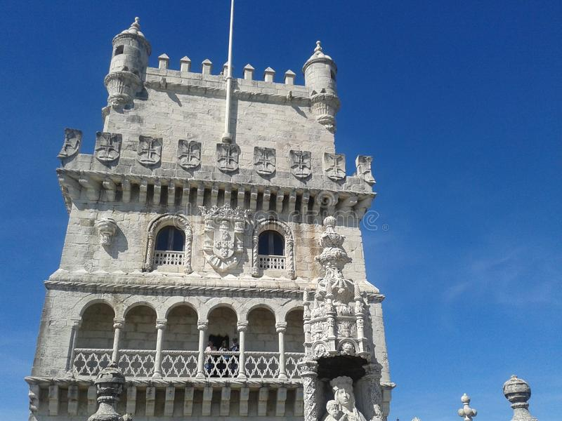 Башня Belen - Португалия стоковое изображение