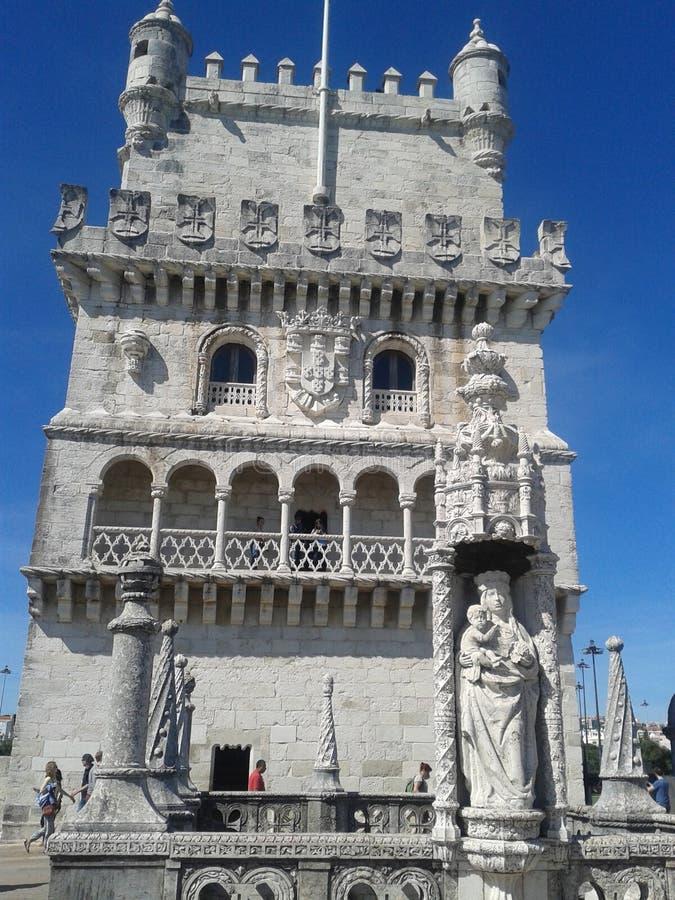 Башня Belen - Португалия стоковые фото