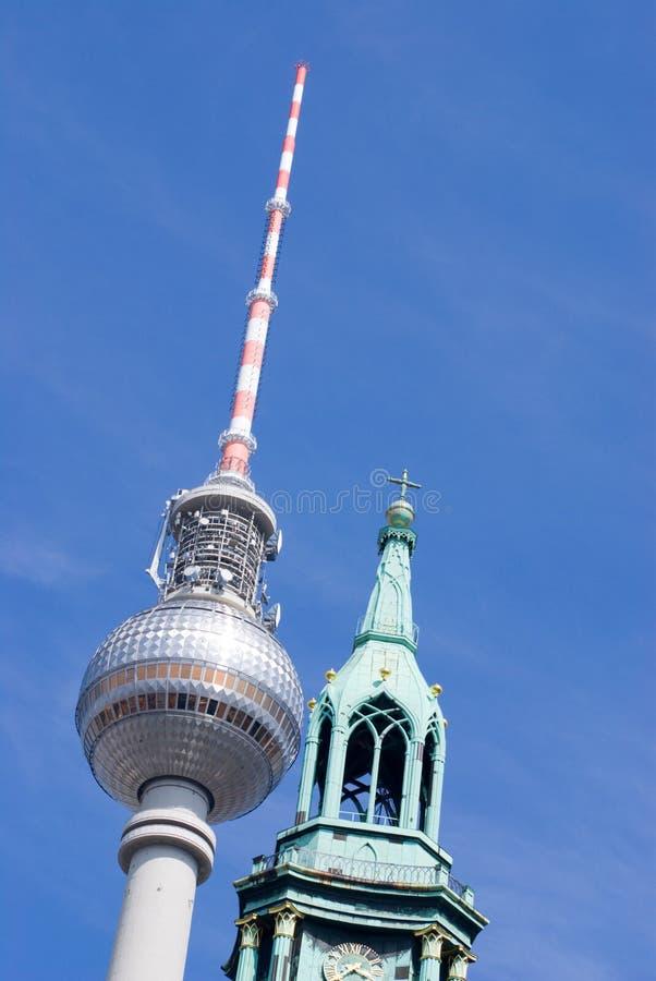 башня berlin стоковое фото