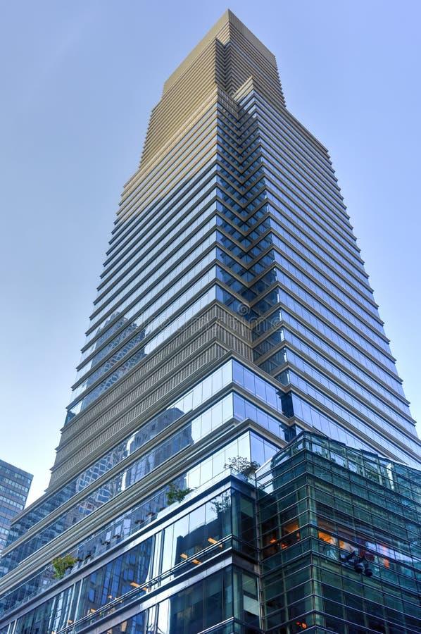 Башня Bloomberg - Нью-Йорк стоковые изображения rf