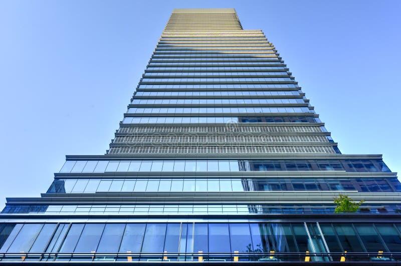 Башня Bloomberg - Нью-Йорк стоковая фотография rf
