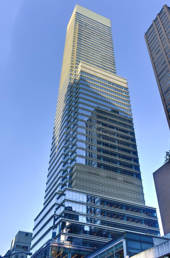 Башня Bloomberg - Нью-Йорк стоковые фото