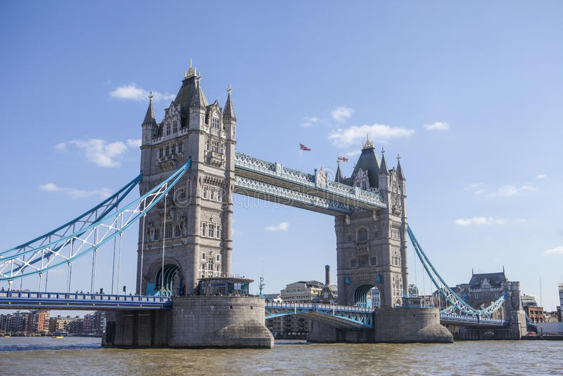 башня bridge1 стоковое фото