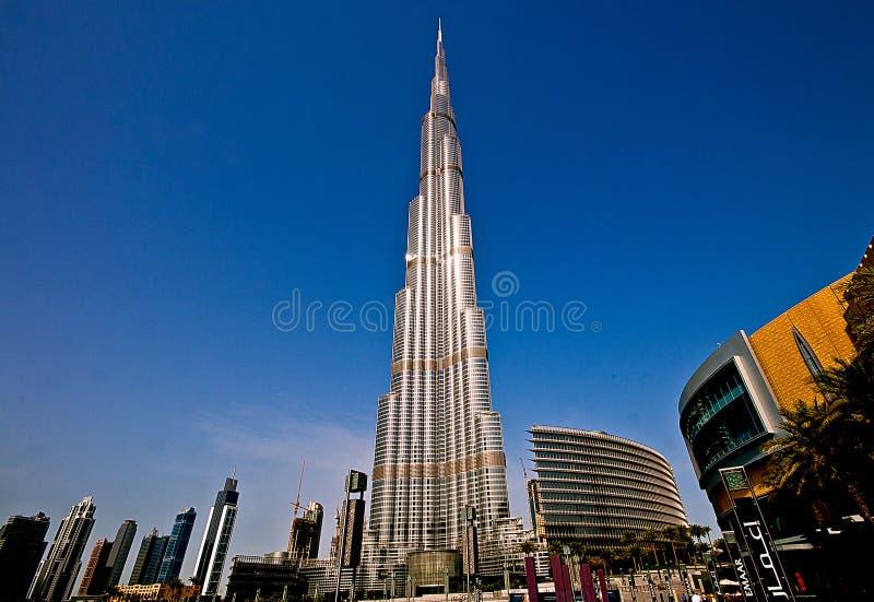 Башня Burj Khalifa стоковые фото