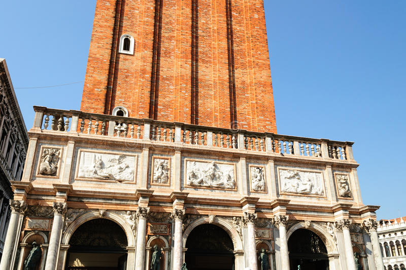 Башня Campanila стоковое фото