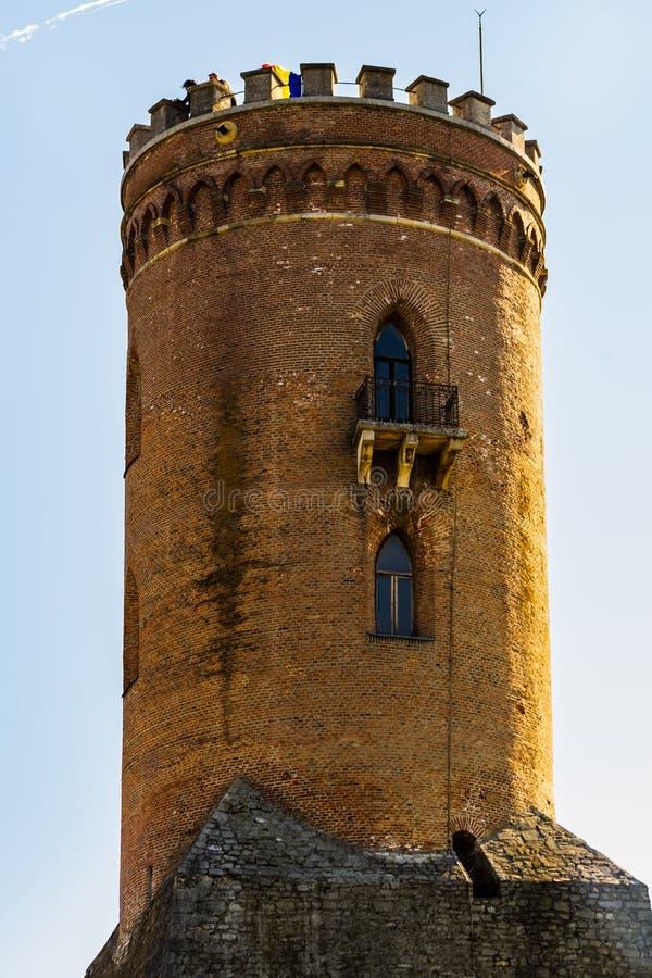 Башня Chindia в Targoviste, Румыния стоковое изображение