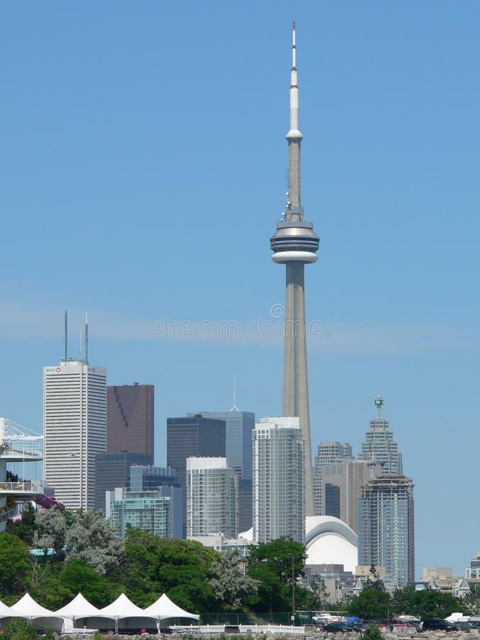 башня cn зданий стоковая фотография